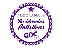 GDC: programa, residencia artistica