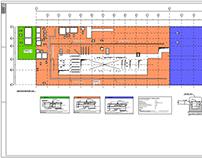 Projeto de piso feito em Revit