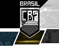 Conceito de um novo logo para CBF