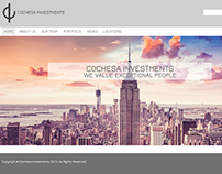 Pagina web para Private Equity Firm