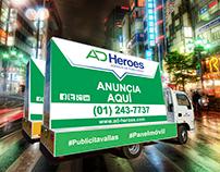 AD - HEROES PIEZAS GRÁFICAS