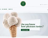 """Sitio web para empresa de helados """"Dolce gelato"""""""