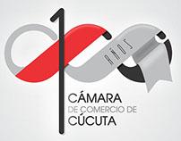 PROPUESTA LOGO 100 AÑOS CAMARA DE COMERCIO DE CUCUTA