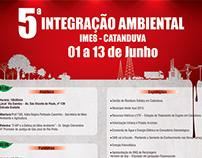 Cartaz 5ª Integraçao Ambiental