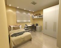 Modelagem 3D de quarto