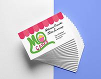 Diseño logo y tarjetas MOcakes