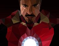Iron Man - Low Poly