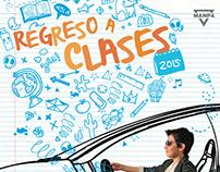 Campaña regreso a clases El Lider 2015
