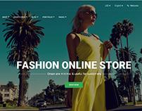 Tienda Virtual (E-Commerce) Fashion Online Store