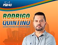 Rodrigo Quintino  Vereador Campanha @ Agência Cod