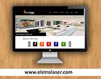 Desenvolvimento de Website - Eletro Laser