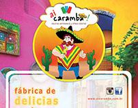 "Paleteria "" Ai Caramba!"" - logotipo  e flyer"