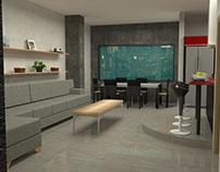 Proyecto de Remodelacion vivienda (Sala, Cocina)