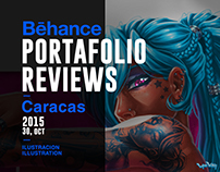 Behance Portafolio Reviews Caracas - Ilustración