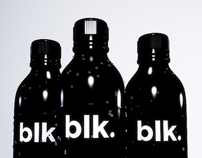 3D Bottle BLK.Water & Animation test