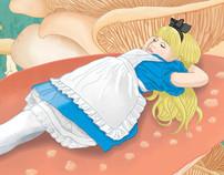 Julia as Alice in Wonderland
