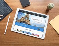 Sitio Web para agencia de tourismo.