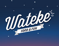 Wateke food & fun // web