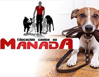 Imagen Corporativa Educación Canina En Manada