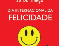 Institucional Dia da Felicidade - Mídias Sociais