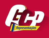 Logotipo e Identidade Visual GCP Representações