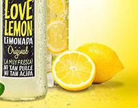 Diseño aviso. Limonada Love Lemon. Chile