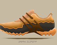 The Four Elements/  Sport Shoes Concepts
