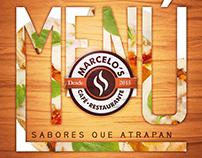 Menú Marcelo's Café • Restaurante