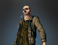 "Concept character main demo ""Last Extinction"""