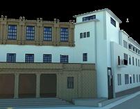 Propuesta arquitectónica - Anexo a Seminario de Mérida.