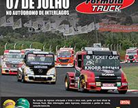 Anúncio Jornal Fórmula Truck