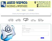 Web site para a Br Auto Vidros