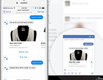 Ecommerce facebook Chatbot