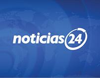 Infografías Noticias 24 | Infographics