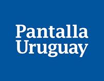 Pantalla Uruguay - rediseño de marca