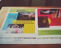 Print work: event flyer.