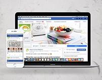Redes Sociales Cliente: Veguis Gourmet Magazine