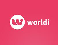 Web site project - Worldi