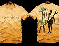 Design. T-Shirt Surfzen. Designer Danilo Monteiro.