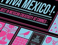 Flyer. Casa México, Cannes 2013.