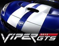 Poster - Dodge Viper GTS