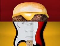 The Burgerock Truck - Cardápio