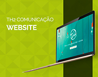 Website e Vídeo Institucional TH2 Comunicação