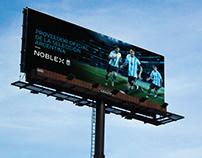 Noblex - Campaña Copa América