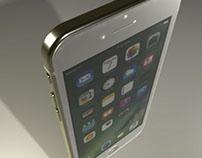 Modelagem 3D: iphone 7