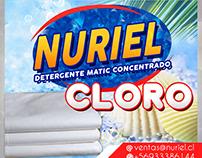 Diseño Para Nuriel Envase de cloro.