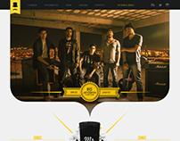 Website Banda Mr Jones