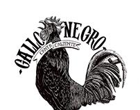 Gallo Negro Illustration