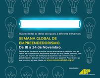 Anúncio Semana Global do Empreendedorismo