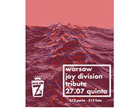 Cartaz para Show - Bar do Zé Campinas - Warsaw 2017